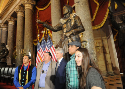 091819 Chief Standing Bear Statuary Hall Dedication-052