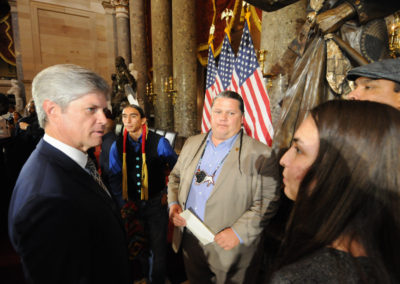 091819 Chief Standing Bear Statuary Hall Dedication-055