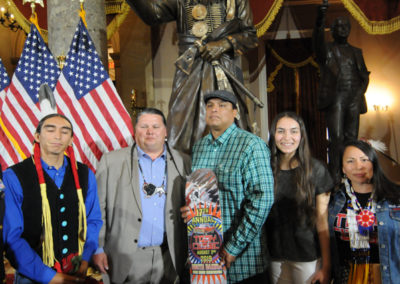 091819 Chief Standing Bear Statuary Hall Dedication-059