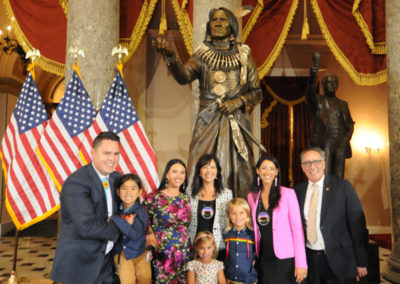 091819 Chief Standing Bear Statuary Hall Dedication-065