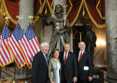 091819 Chief Standing Bear Statuary Hall Dedication-068