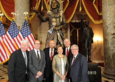 091819 Chief Standing Bear Statuary Hall Dedication-069