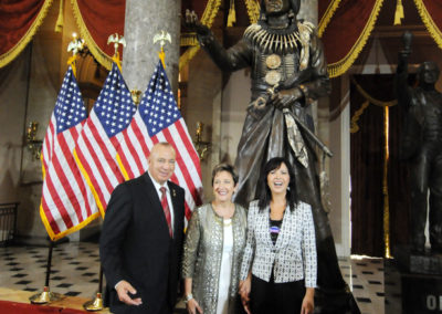 091819 Chief Standing Bear Statuary Hall Dedication-070