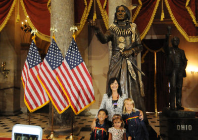 091819 Chief Standing Bear Statuary Hall Dedication-072