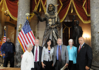 091819 Chief Standing Bear Statuary Hall Dedication-073