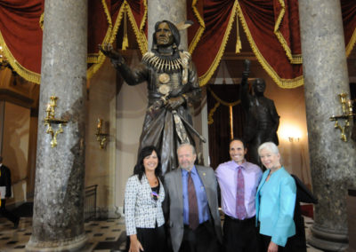 091819 Chief Standing Bear Statuary Hall Dedication-074