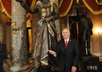 091819 Chief Standing Bear Statuary Hall Dedication-085