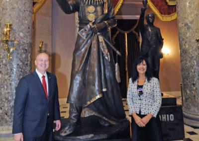 091819 Chief Standing Bear Statuary Hall Dedication-092
