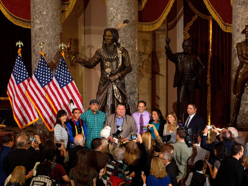 Chief Standing Bear, Who Fought for Native American Freedoms, Is Honored With a Statue in the Capitol
