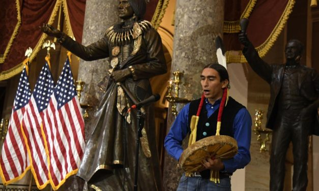 Chief Standing Bear takes his place in U.S. Capitol