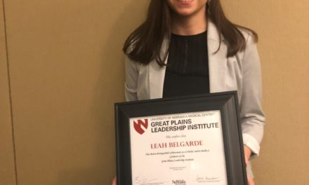 Leah Belgarde, an enrolled member of the Turtle Mountain Band of Chippewa, graduated from the Great Plains Leadership Institute on October 9th, 2019