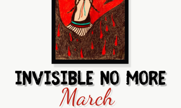 Invisible No More March