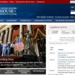 Standing Bear Featured on U.S. House Page