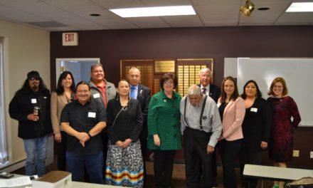 NCIA Staff Attend 2020 Winnebago Legislative Luncheon
