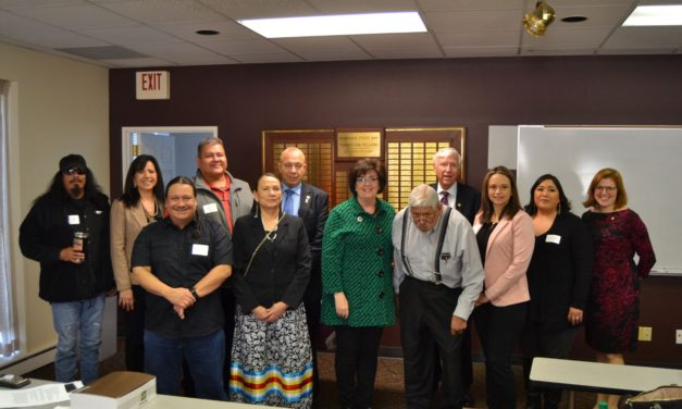 NCIA Staff Attend 2020 Winnebago Legislative Luncheon