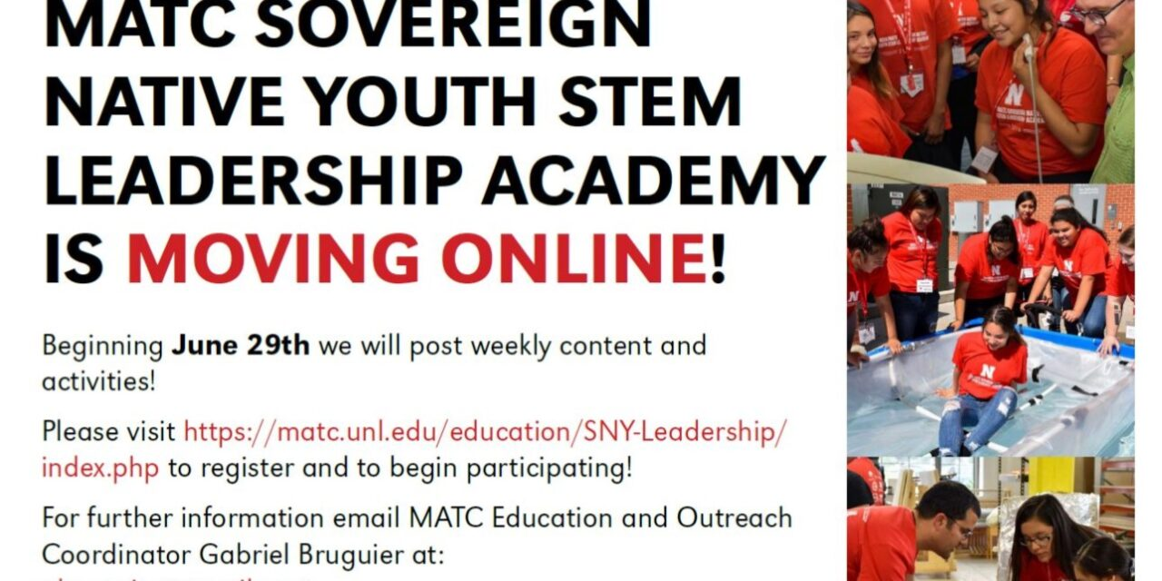 2020 Sovereign Native Youth Academy