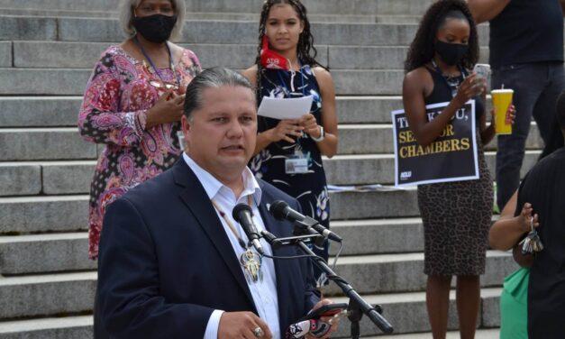 Ponca Chairman Bids Fond Farewell to Senator Chambers