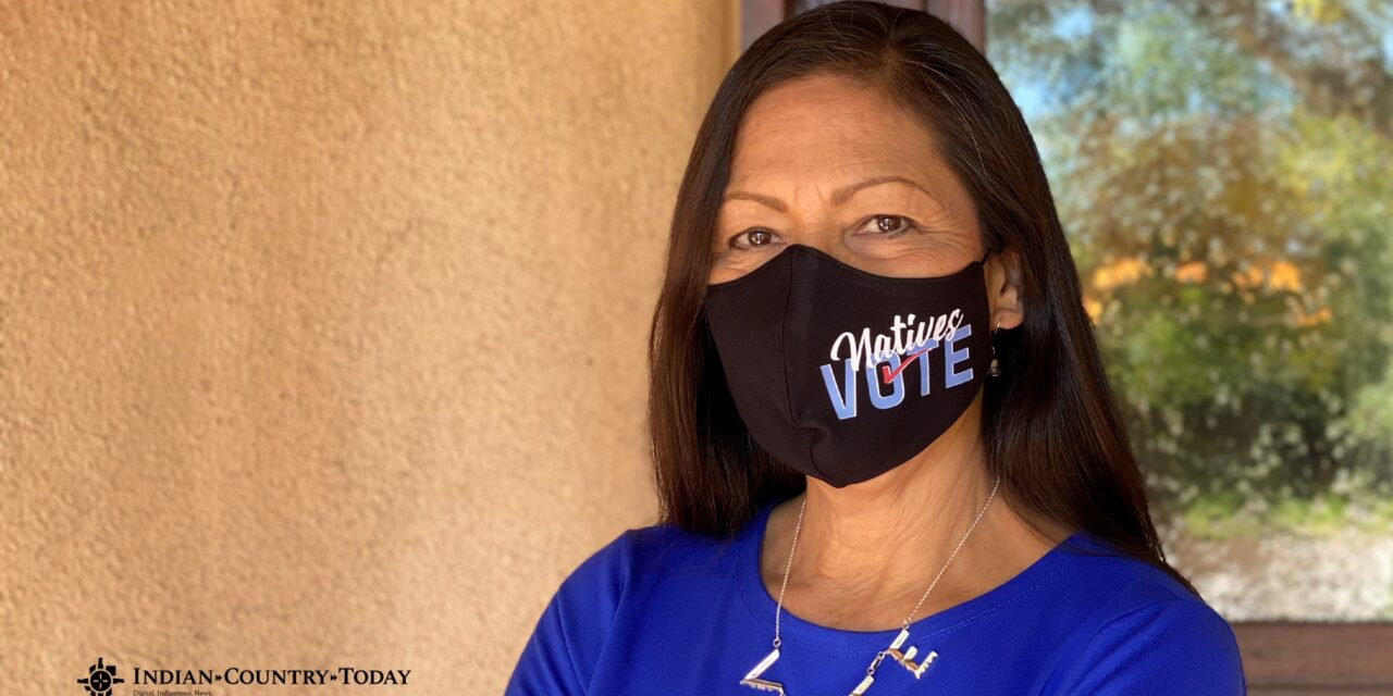 Deb Haaland has been tapped to lead The Department of Interior