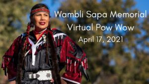 2021 UNO Wambli Sapa Memorial Virtual Pow Wow @ Online